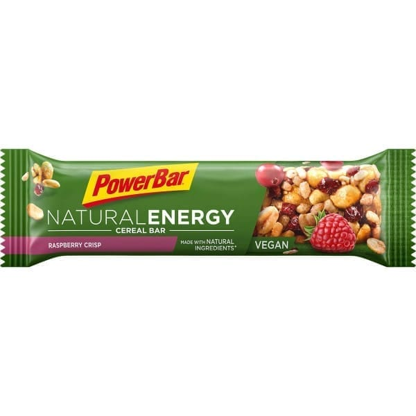 PowerBar Natural Energy Barra de cereal de framboesa crocante 1