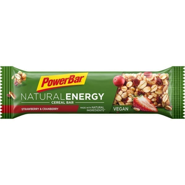 PowerBar Natural Energy Barra de cereais barra de morango cranberry