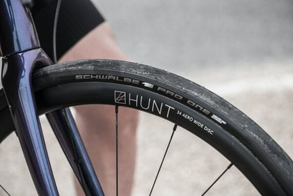 HUNT 34 Aero Wide Disc wheelset roues XP Sport Bike 1