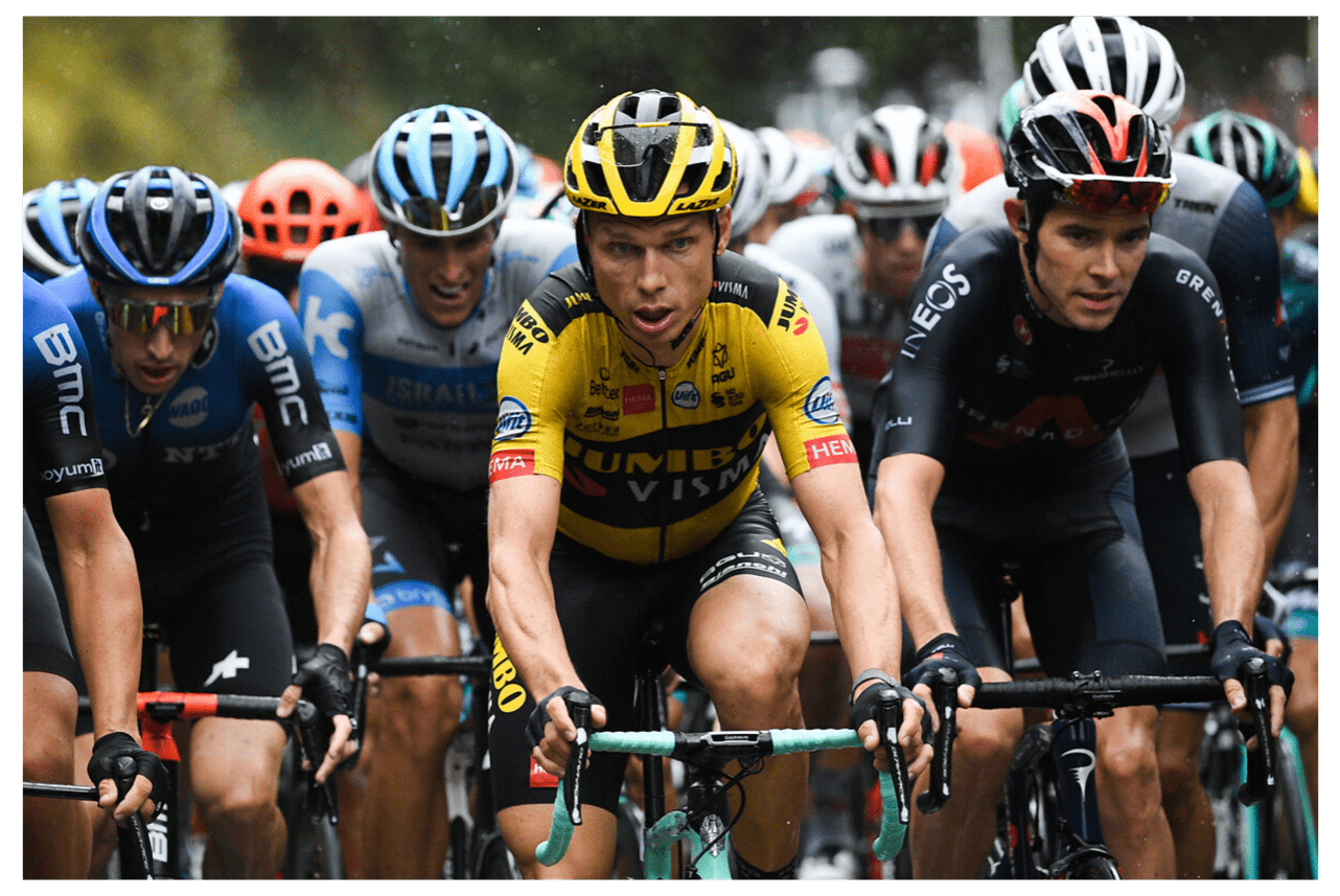 Tony Martin und Luke Rowe / Tour de France 2020