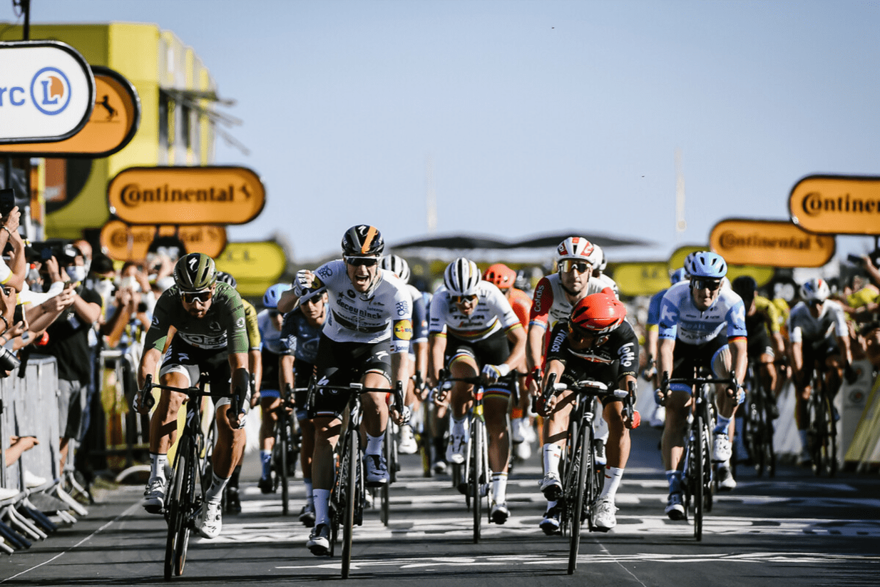 Sam Bennett, winnaar 10e etappe Tour de France 2020