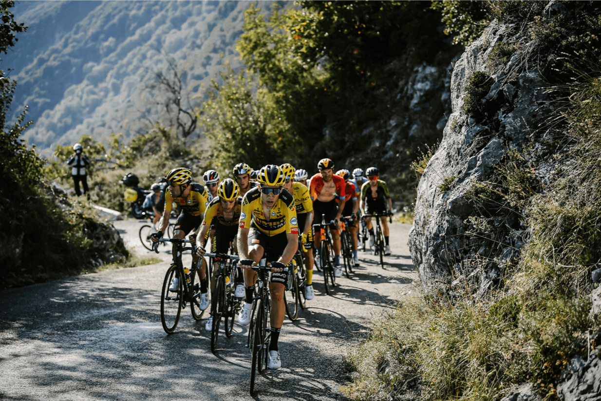 Wout van Aert beweist am Berg seine Qualität
