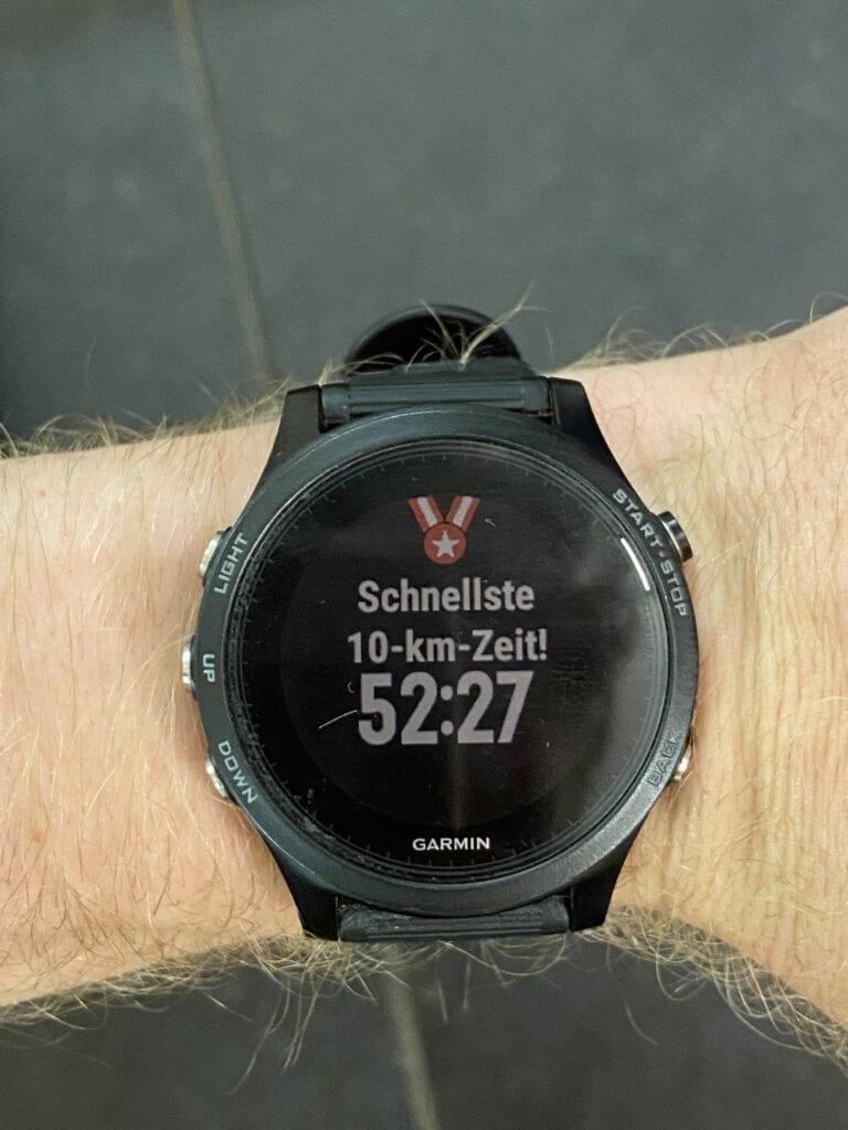 Personal record 10K Marathon