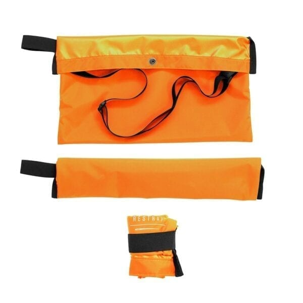 Restrap Adventure Race Musette Umhängetasche bag XP Sport orange 1