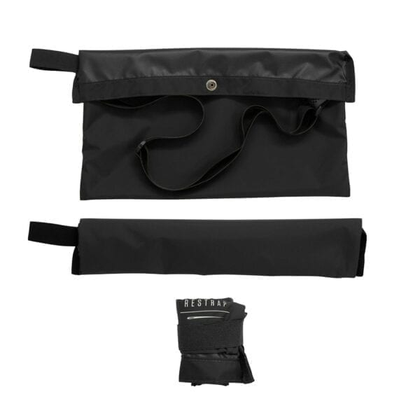 Restrap Adventure Race Musette Umhängetasche bag black XP Sport 1