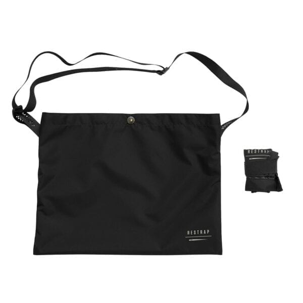 Restrap Adventure Race Musette Umhängetasche bag black XP Sport