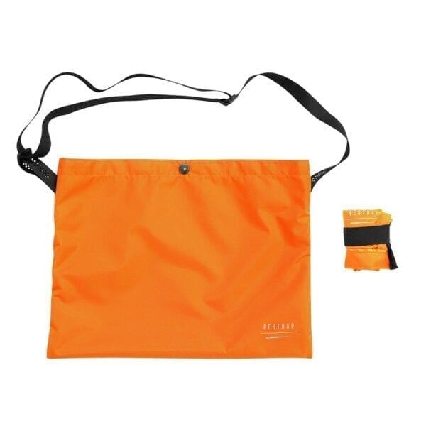 Restrap Adventure Race Musette Umhängetasche bag orange XP Sport