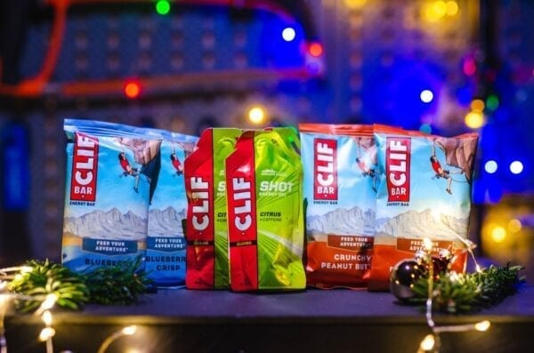 With ClifBar fit through the Festive 500