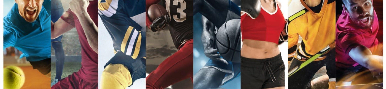 Leistungssportler in verschiedenen Disziplinen
